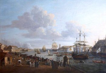The Arrival of Prince William Henry at Havana