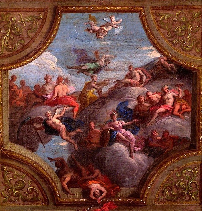 Sketch for a Ceiling Decoration | James Thornhill | oil painting
