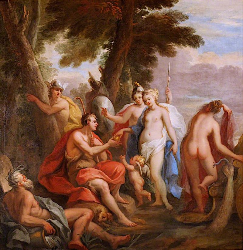 The Judgement of Paris | James Thornhill | oil painting