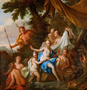 Diana and Actaeon | James Thornhill | oil painting