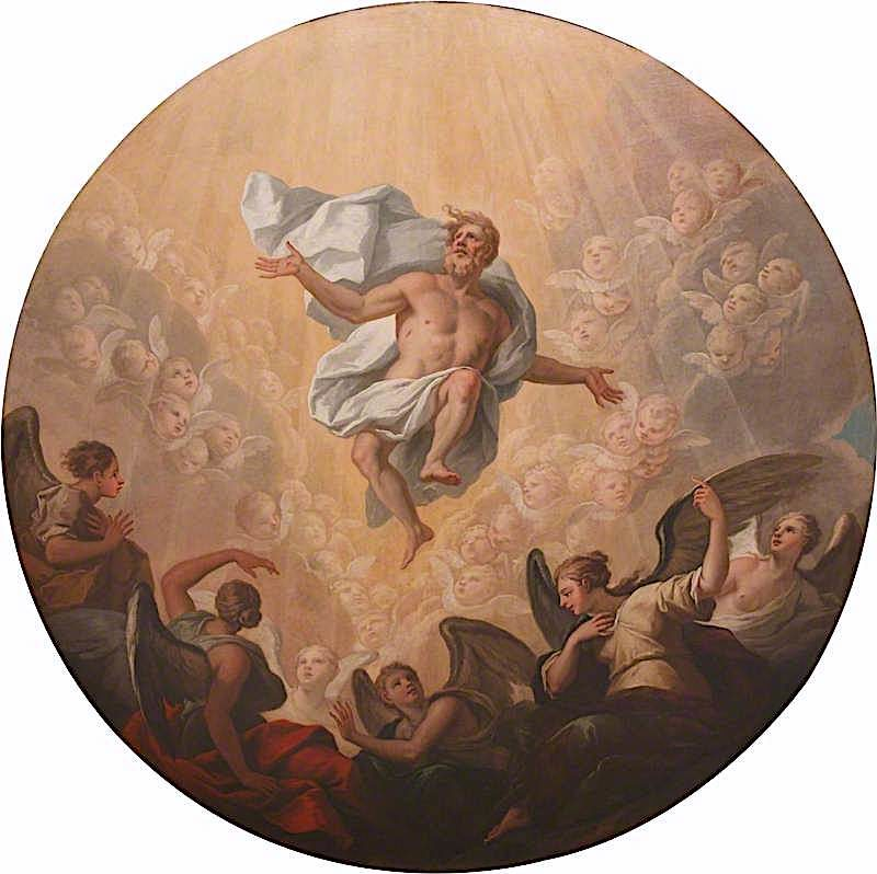 Ascension | James Thornhill | oil painting