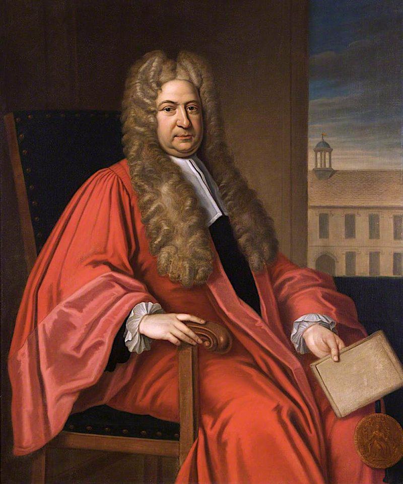 Sir Nathaniel Lloyd | James Thornhill | oil painting