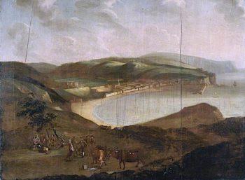 View of Whitehaven | Matthias Read | oil painting