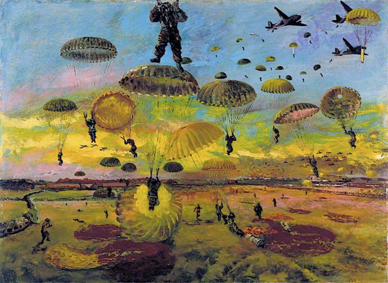 The Drop | Albert Richards | oil painting