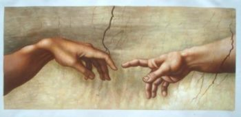 The Creation of Adam - Hands Only
