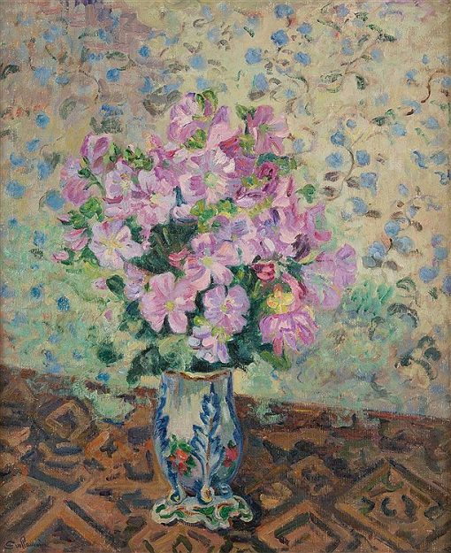 Vase of Flowers | Armand Guillaumin | oil painting