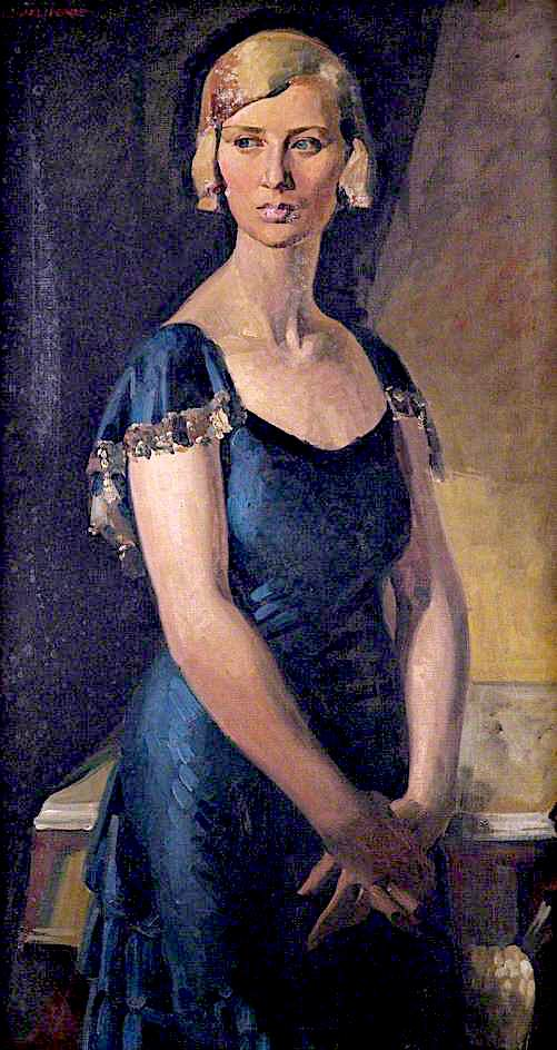 Mrs Nell Jenkins | Percy Shakespeare | oil painting