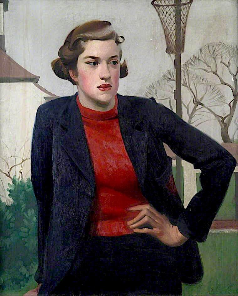 Schoolgirl | Percy Shakespeare | oil painting