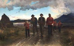 Listed for the Connaught Rangers | Elizabeth Southerden Thompson Butler | oil painting