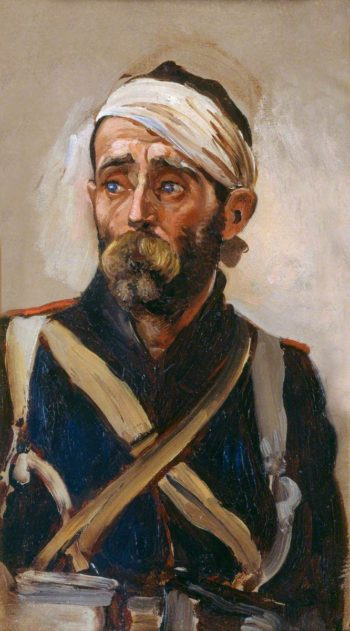 Study of a Wounded Guardsman