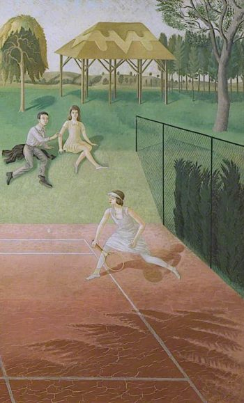 Tennis (triptych