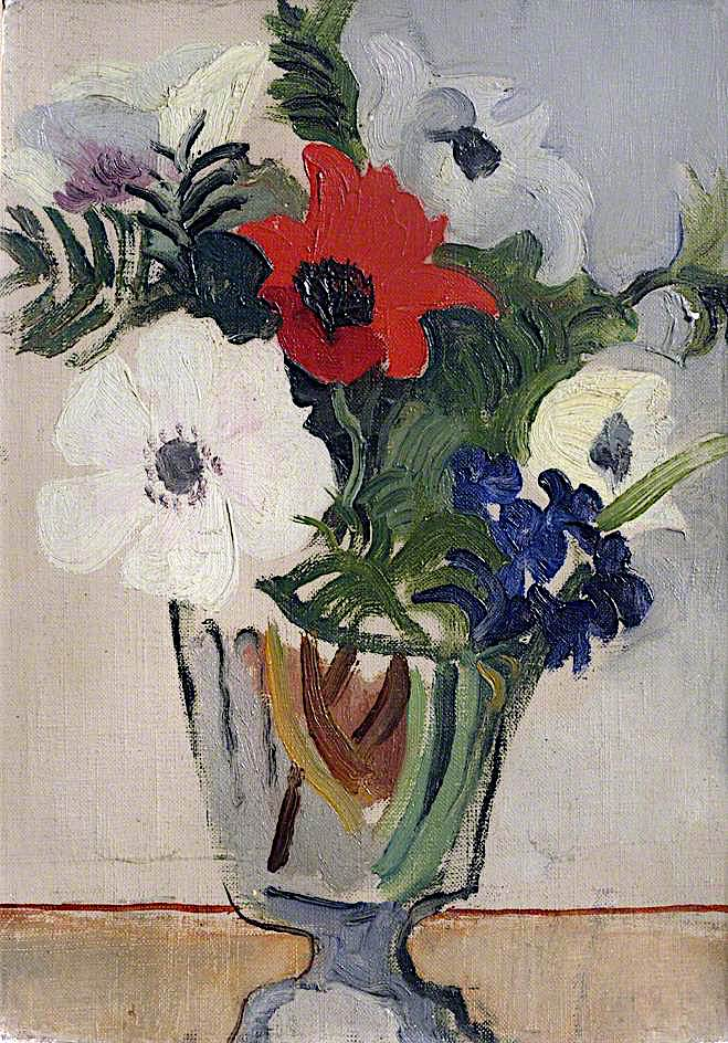 Flowers   Christopher Wood   oil painting
