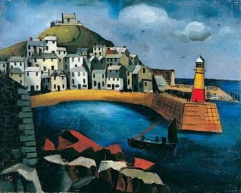 The Harbour | Christopher Wood | oil painting