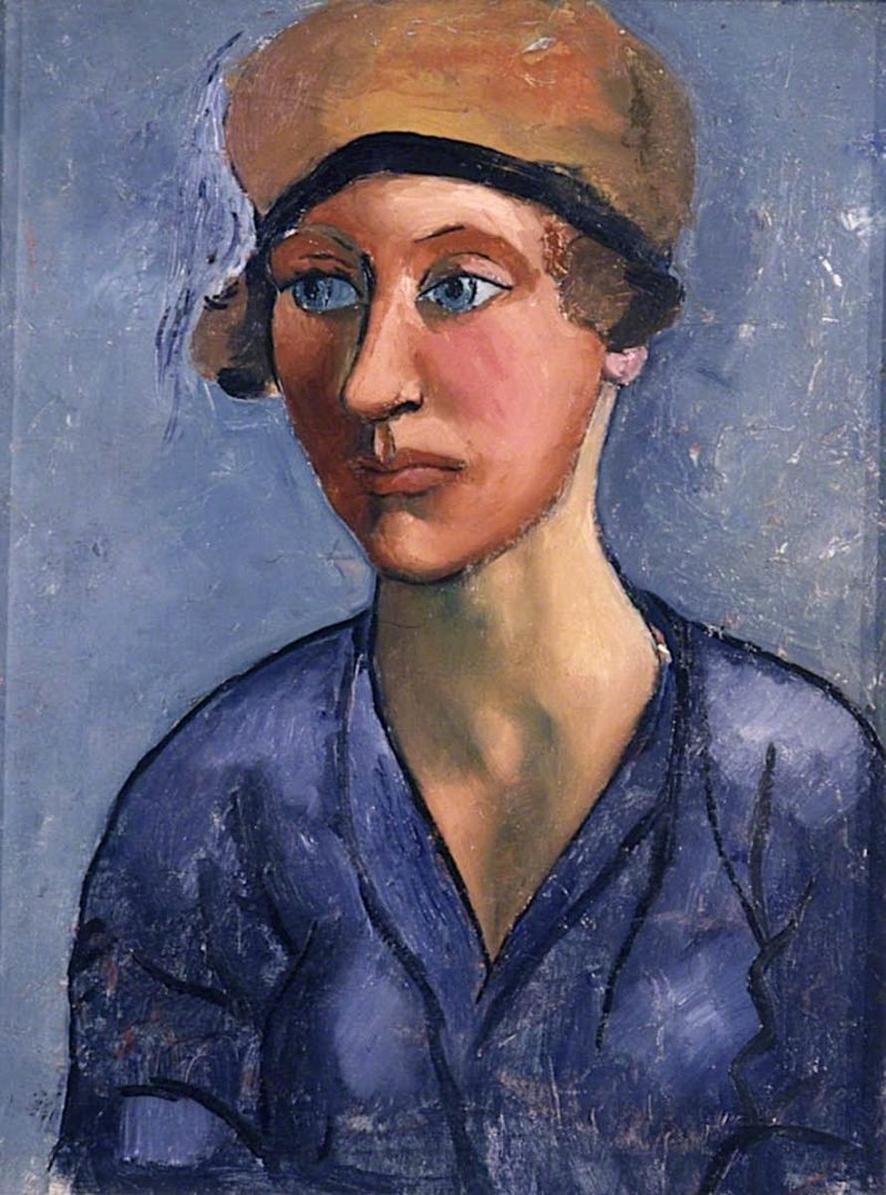 Girl in a Cloche Hat | Christopher Wood | oil painting