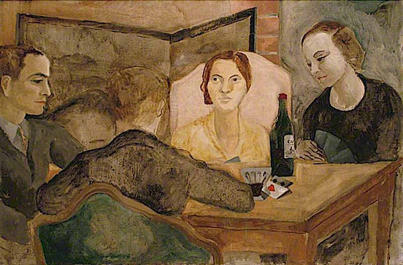 Conversation Piece | Christopher Wood | oil painting