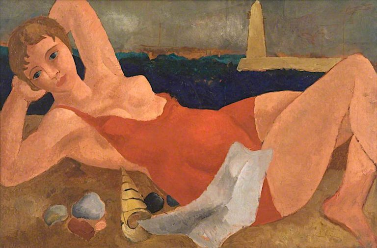 The Bather | Christopher Wood | oil painting