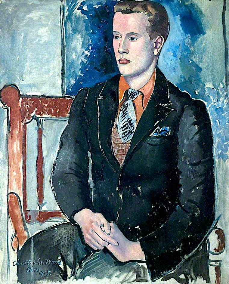 Constant Lambert as a Young Man   Christopher Wood   oil painting