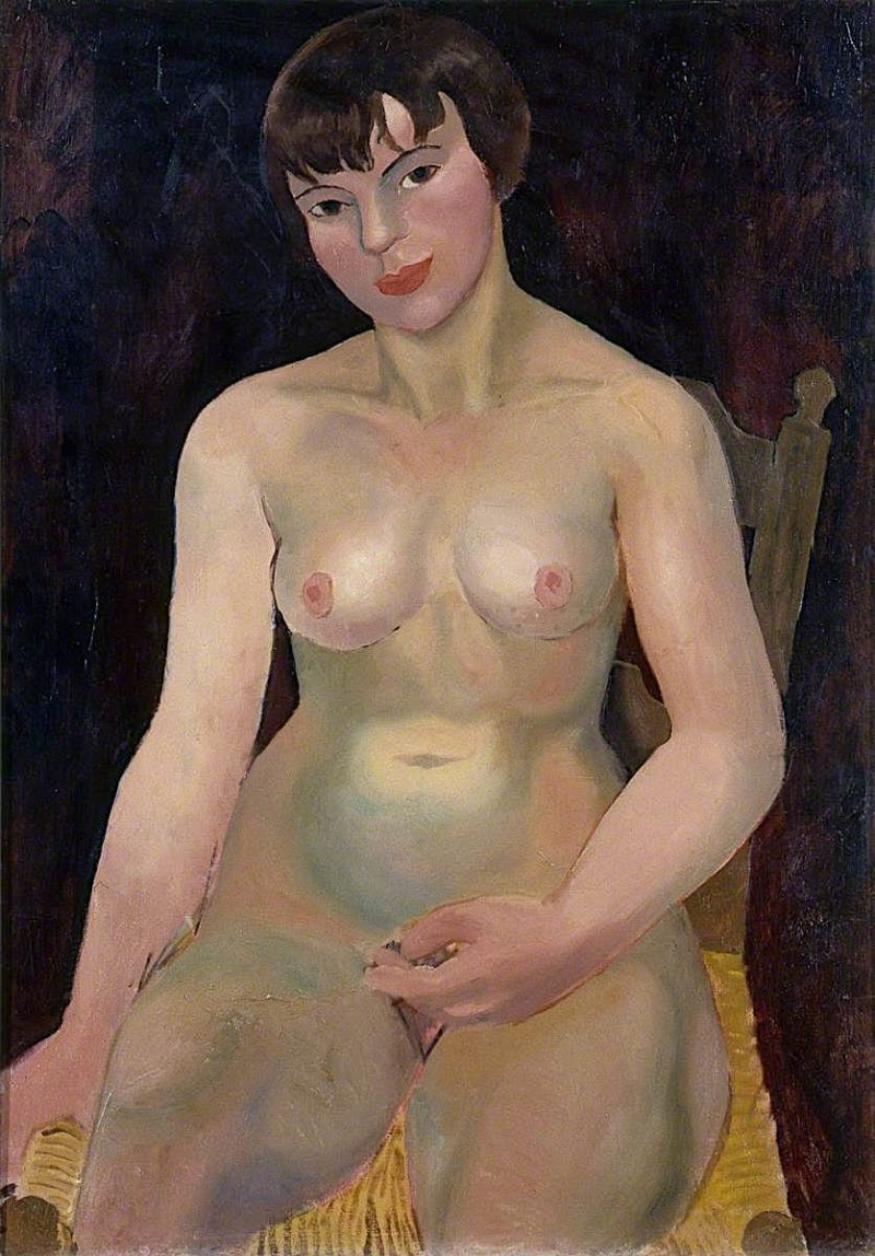 Seated Nude | Christopher Wood | oil painting