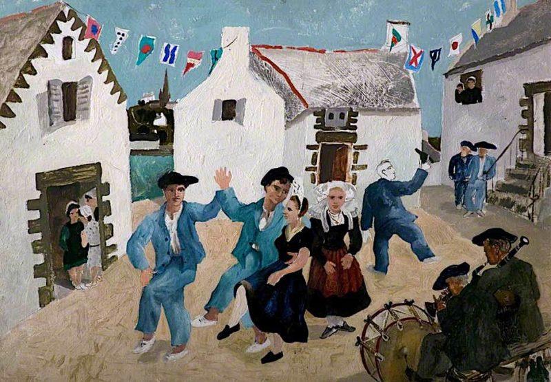 Dancing Sailors