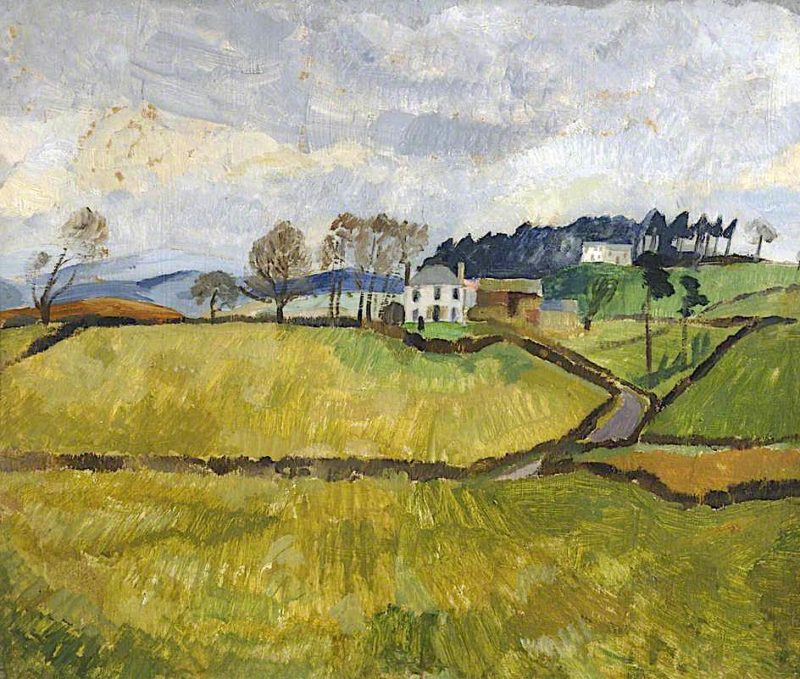 Cumberland Landscape | Christopher Wood | oil painting