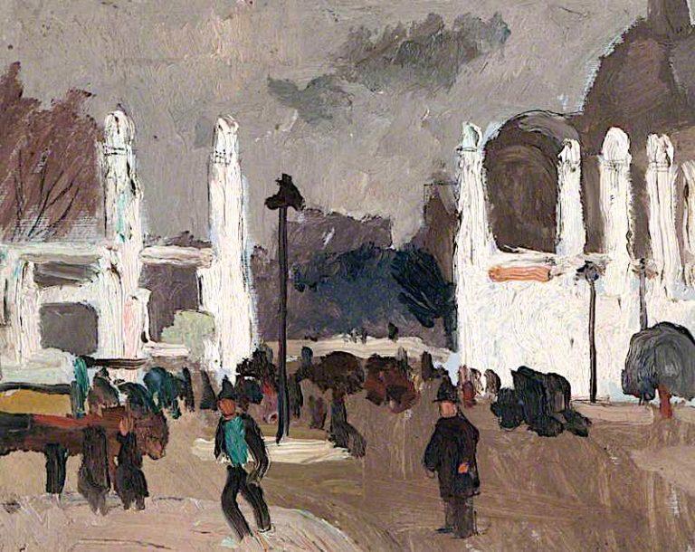 The Porte dHonneur and the Petit Palais
