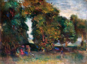 Trees | Isaac Rosenberg | oil painting