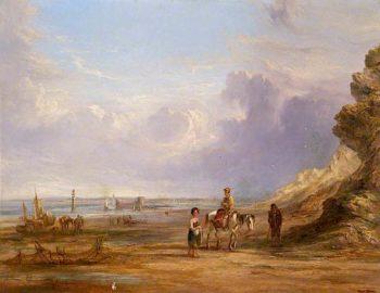 New Brighton Shore in 1835 | Samuel Williamson | oil painting