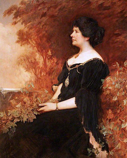 Alice Sophia Amelia Stopford Green   Christopher Williams   oil painting