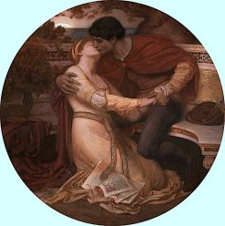 Paolo and Francesca | Christopher Williams | oil painting