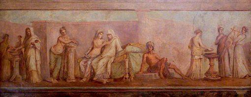 The Aldobrandini Wedding | Christopher Williams | oil painting