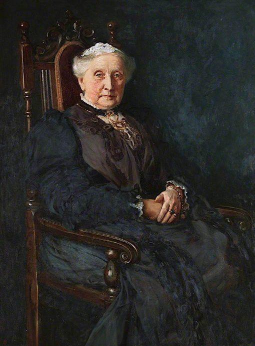 Mrs Elizabeth Poole - Hughes | Christopher Williams | oil painting