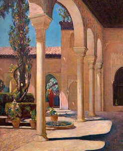 In the Alhambra | Christopher Williams | oil painting