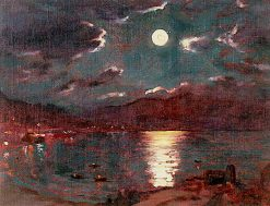 Barmouth Moonlight | Christopher Williams | oil painting
