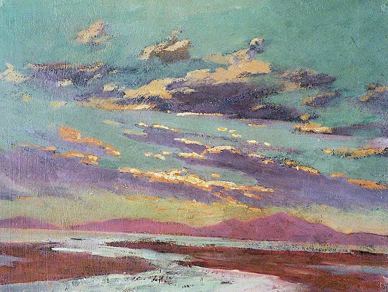 Sunset from Barmouth | Christopher Williams | oil painting