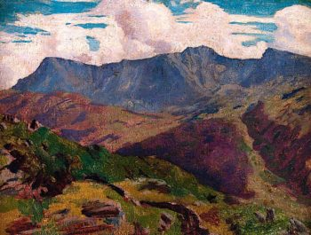 Cader Idris   Christopher Williams   oil painting