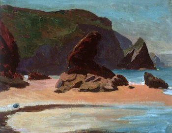 Llangrannog | Christopher Williams | oil painting