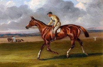 The Life of a Thoroughbred | Alfred Wheeler | oil painting