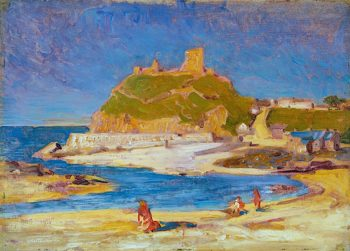 Criccieth Castle | Christopher Williams | oil painting