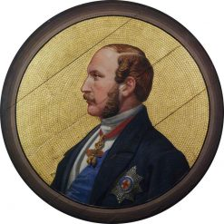 Prince Albert (design for a mosaic in the Victoria and Albert Museum) | Godfrey Sykes | oil painting