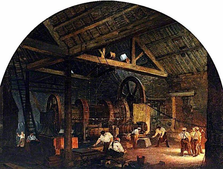 The Tilt Forge | Godfrey Sykes | oil painting