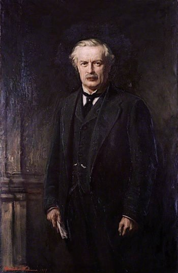 David Lloyd George | Christopher Williams | oil painting