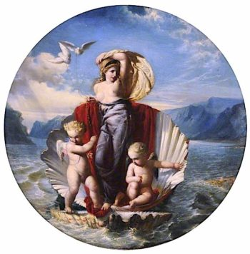 Venus Arising from the Sea | Godfrey Sykes | oil painting