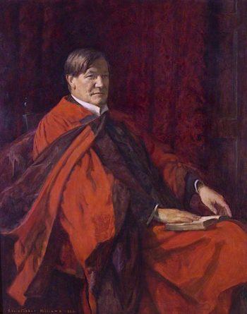 Sir John Morris Jones | Christopher Williams | oil painting