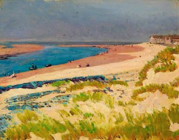 Barmouth Beach | Christopher Williams | oil painting
