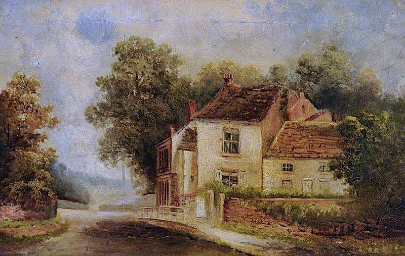 Cottages in London Road