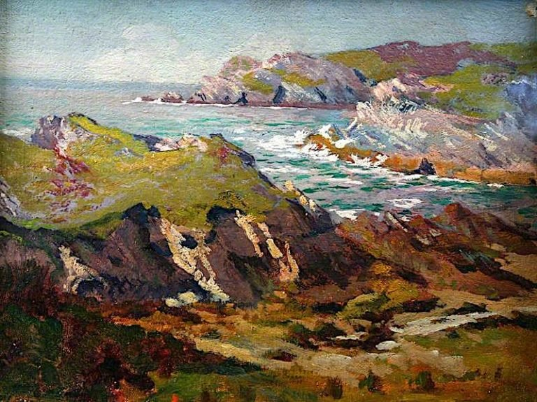 Coast near Holyhead | Christopher Williams | oil painting