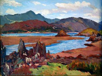View from Arthog | Christopher Williams | oil painting