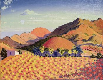 Spanish Landscape | Derwent Lees | oil painting