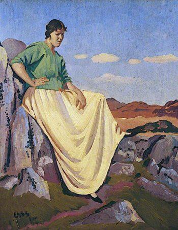 Lyndra | Derwent Lees | oil painting
