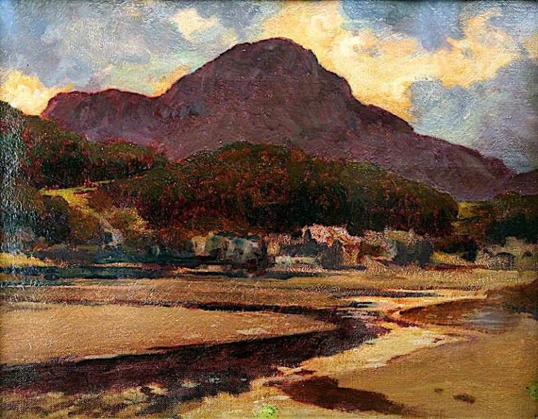 In North Wales | Christopher Williams | oil painting